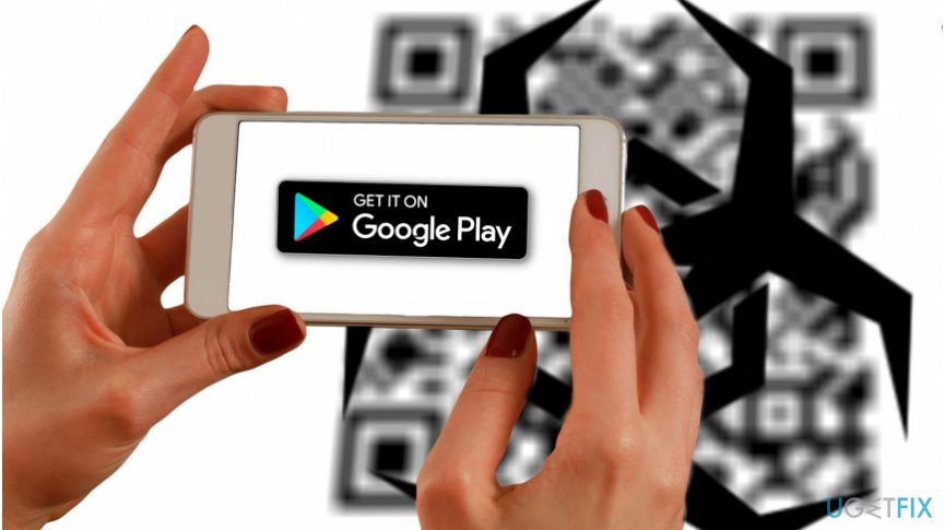 Malware was found on QR code apps in Google Play Store