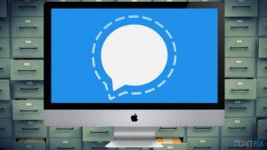 """Self-destructing"" Signal messages are kept live on Mac version"
