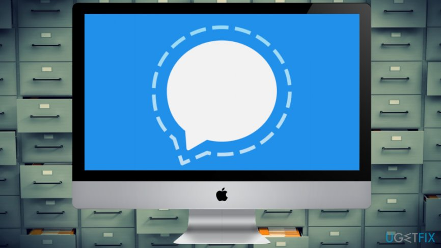 Disappearing Signal's messages are stored on Mac