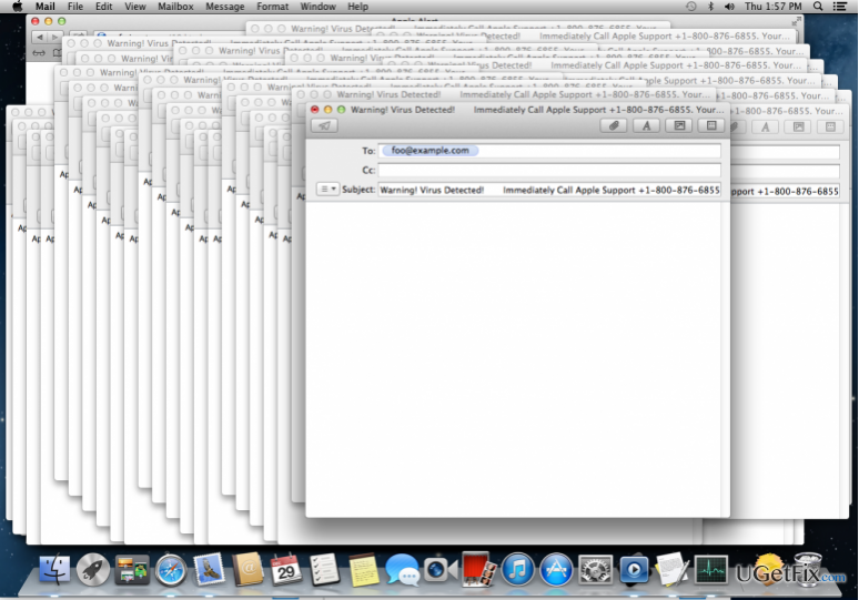 Denial of Service (DoS) Attacks Crashing MacOS Lately snapshot