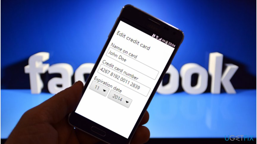 Facebook bug exposed payment card details and friend lists