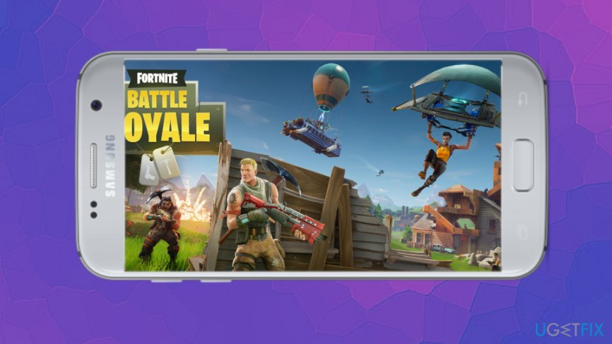 Fortnite for Android is not released yet