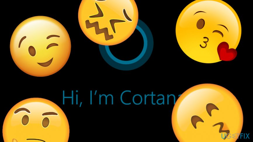 Use emoticons with Cortana