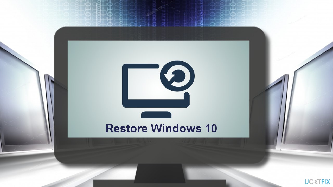 4 Methods to Restore Windows 10