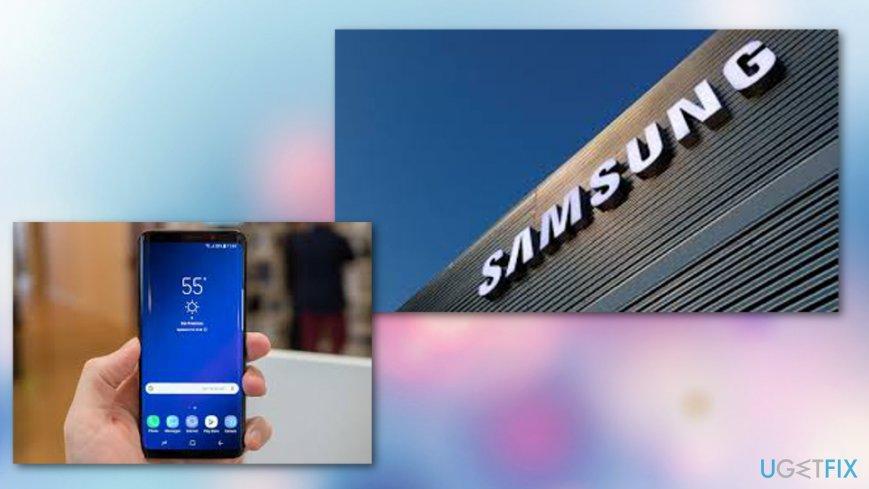 Samsung texting app bug