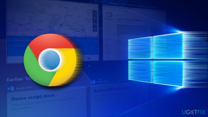 Google Chrome freezes after Windiws 10 April update