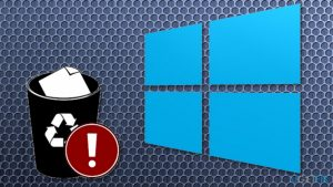 Windows 10 fall update paused because of deleted users' files