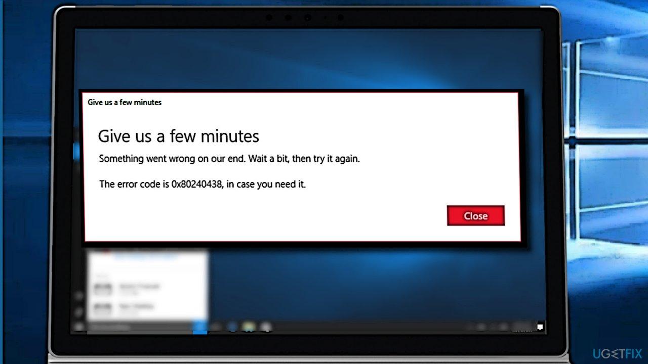How to Fix Error Code 0x80240438 on Windows 10?