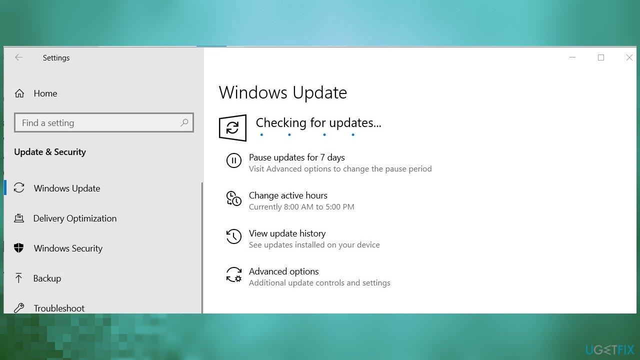 Windows OS Update