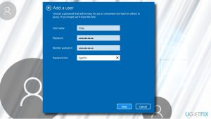 How to Fix Can't Add Another User to Windows 10?