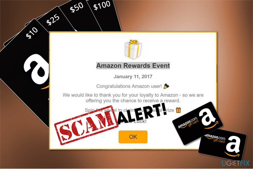 Amazon gift card scam image