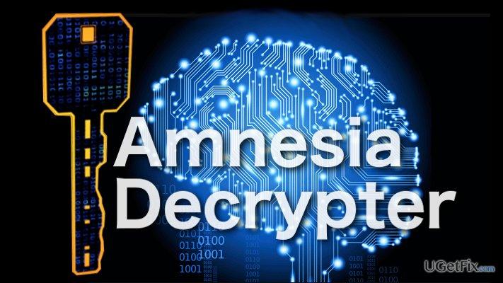 Image of the Amnesia Decrypter
