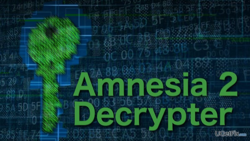 Illustration of Amnesia 2 decrypter