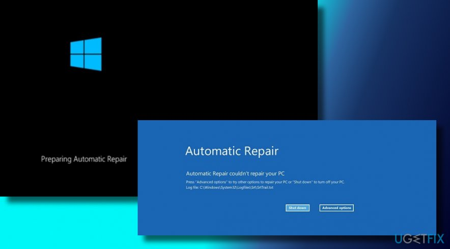 "Fix the ""Automatic Repair couldn't repair your PC"" error on Windows 10"