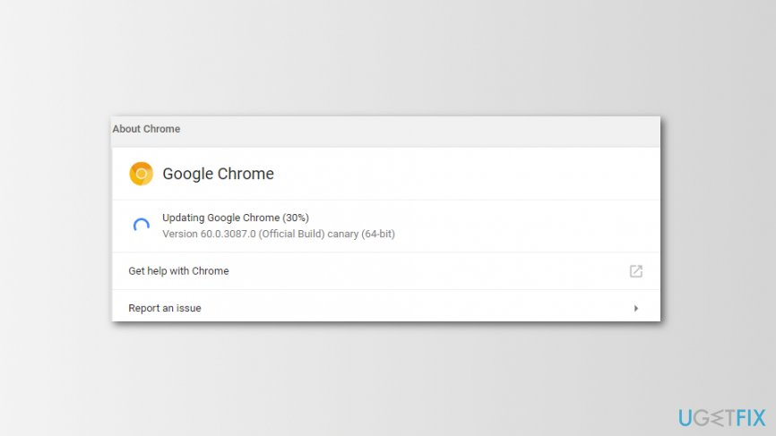 Available Chrome Update
