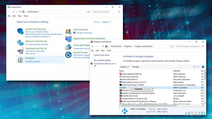Remove 0x80040201 error from Windows