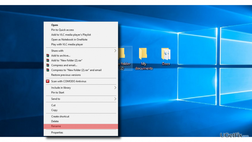 How to Fix Unable to Rename Folders Bug in Windows 10?