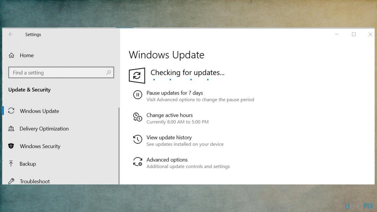 Updating OS