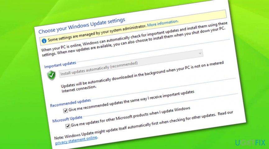 Fix Windows Update Error Code 80244019