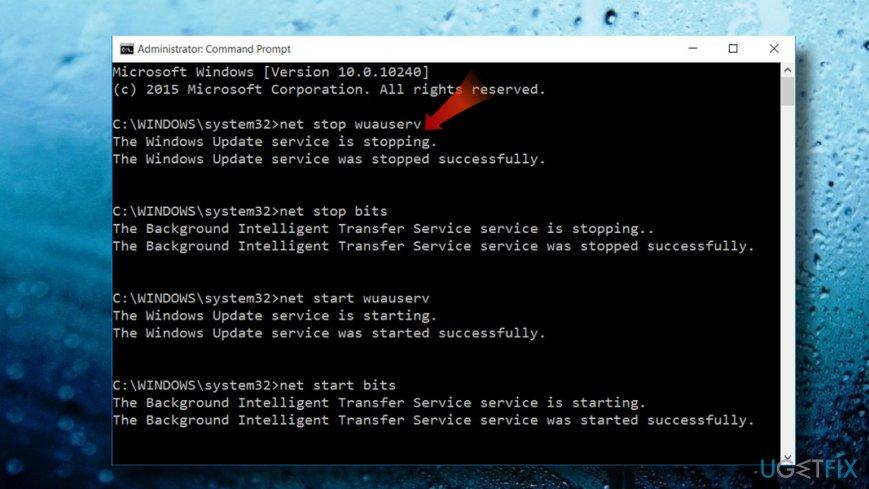 Clean update cache