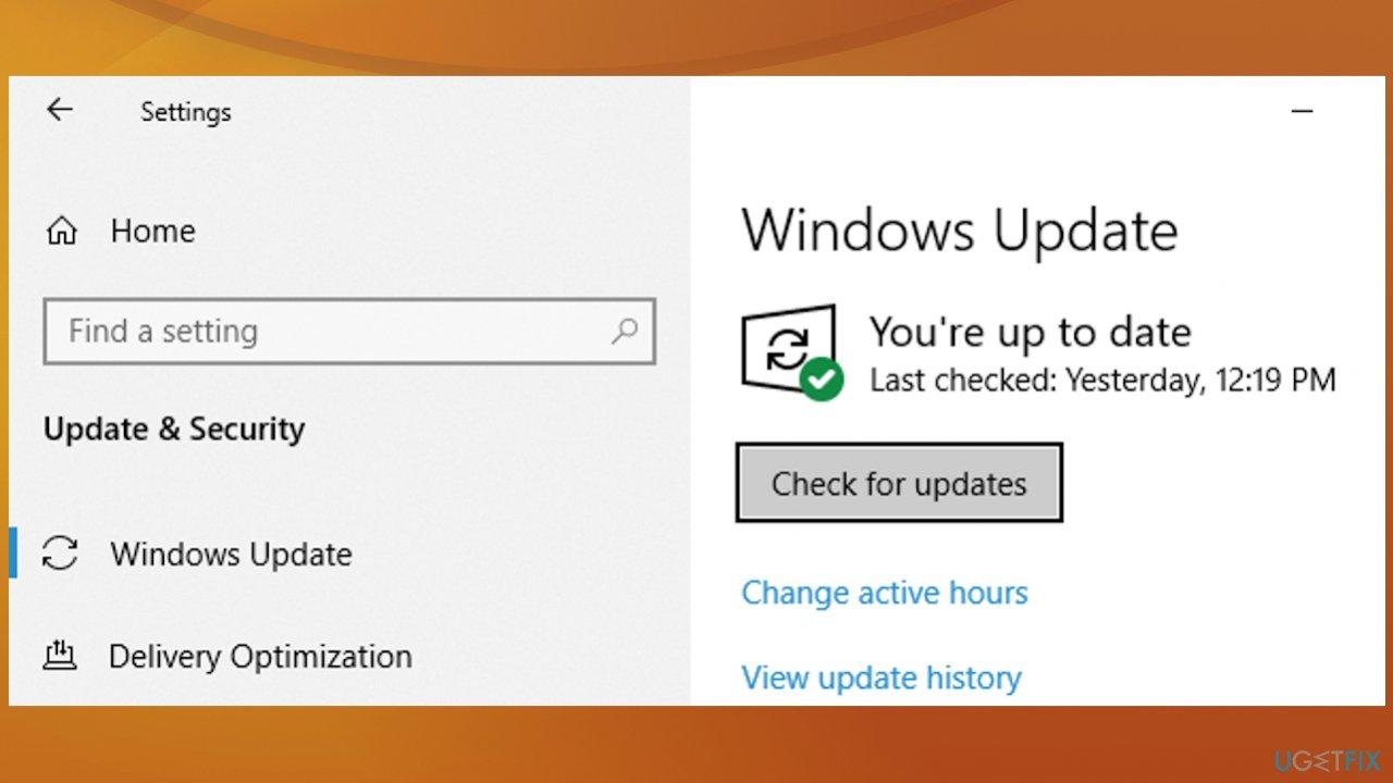 Checking for OS upgrade