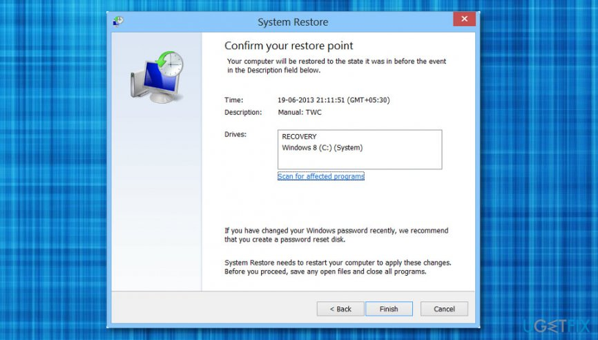 "Delete ""Security Error: 0x80070643"""
