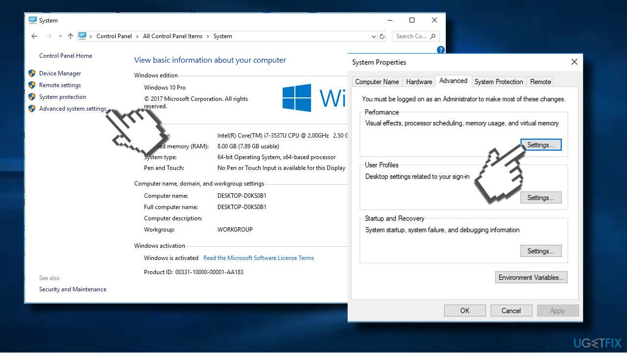 "How to fix ""Exception Access Violation"" error on Windows 10?"