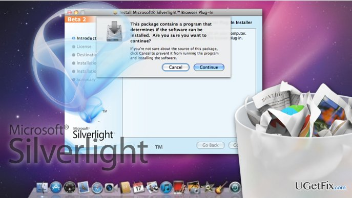 Delete Silverlight from Mac OS X