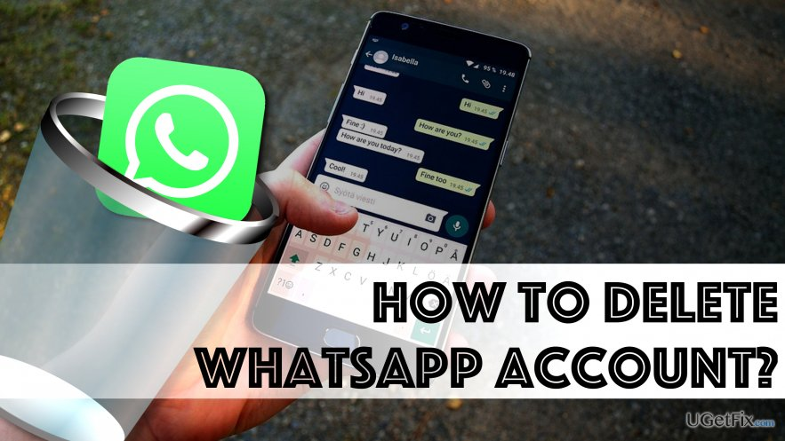 Remove WhatsApp Account and App