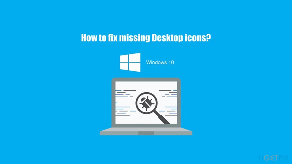 Fix missing desktop icons