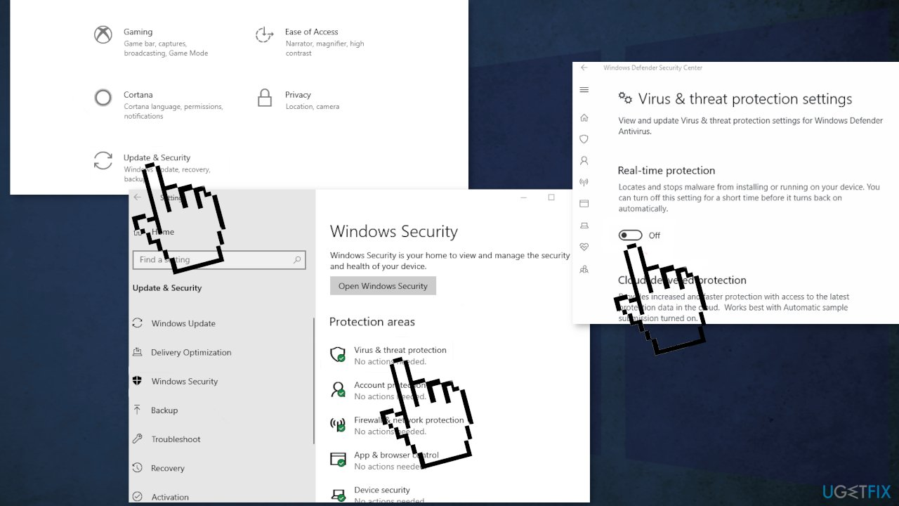 Disable Windows Security