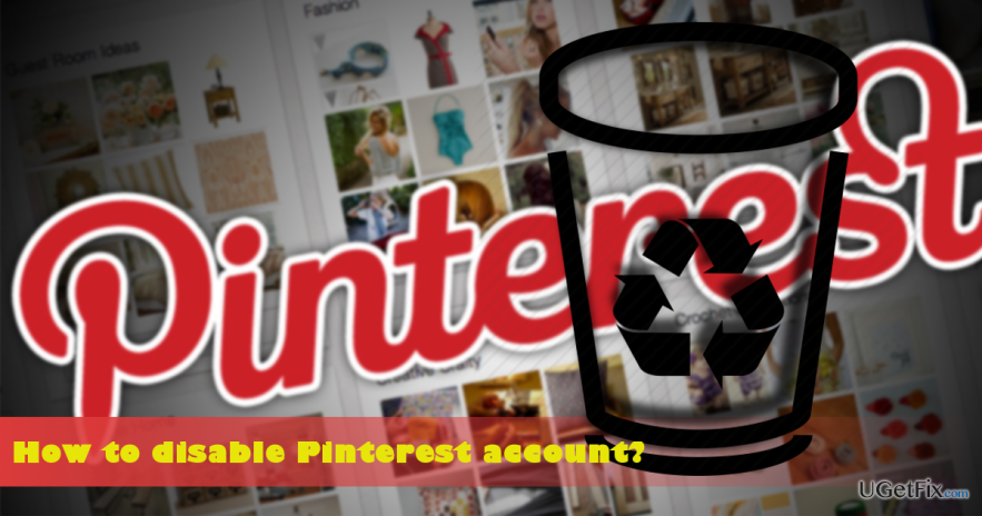 remove Pinterest account permanently