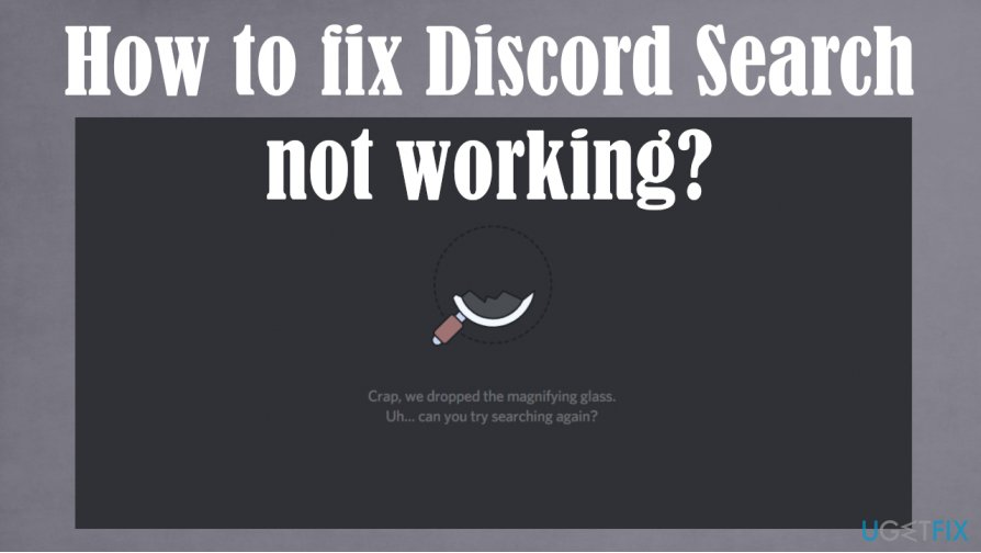 Discord Search not working issue