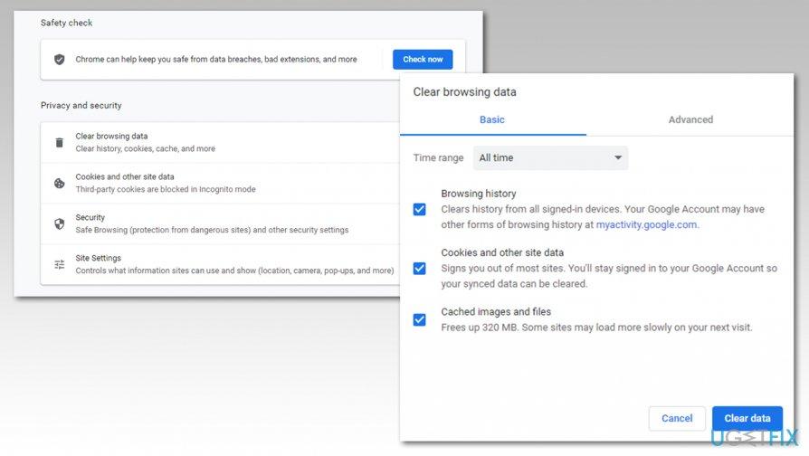 Clean Google Chrome