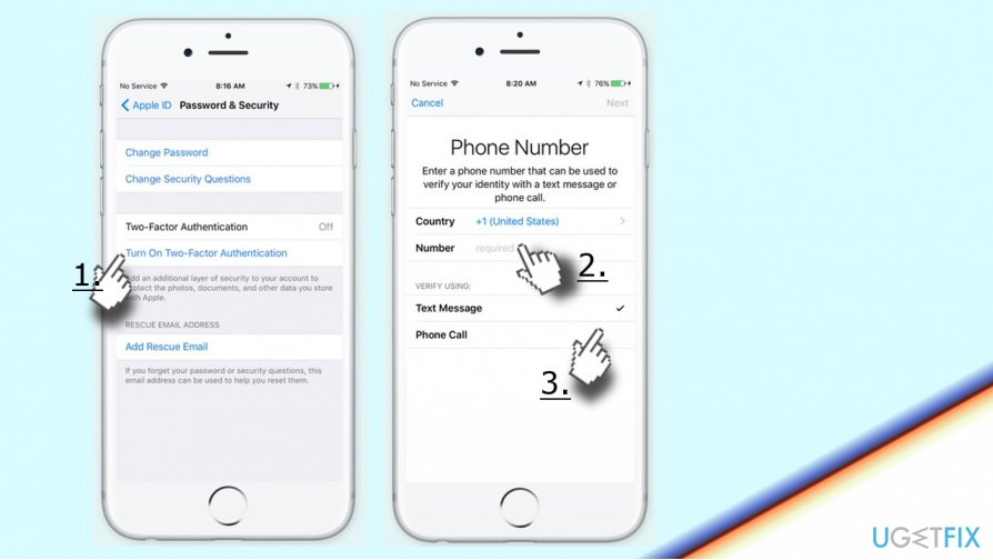 Enable Two-Factor Authentication on iPhone