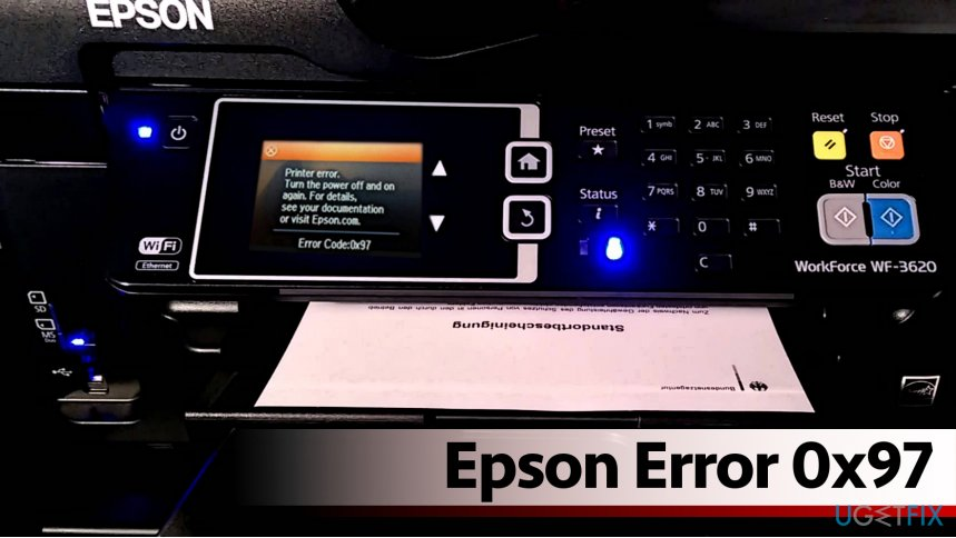 How to Fix Epson Error 0x97?