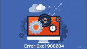 How to fix Windows 10 Update error code 0xc1900204?