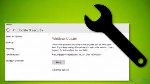 How to fix Windows 10 Update Error 0xc1900107?