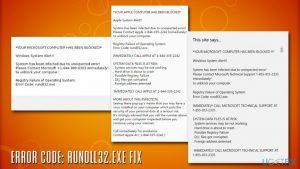 How to fix error code: rundll32.exe?