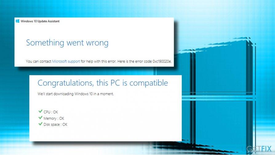 Fix 0xc190020e error