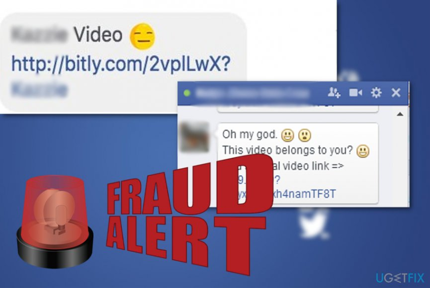 Facebook Message Virus goes on a rampage again