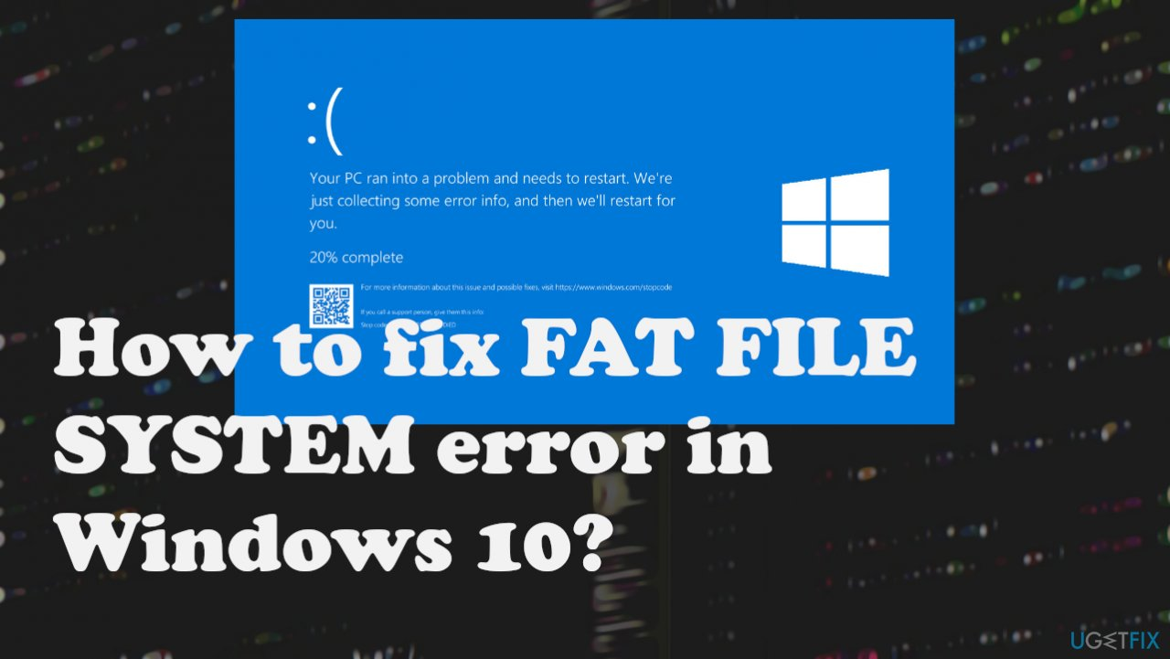 FAT_FILE_SYSTEM error