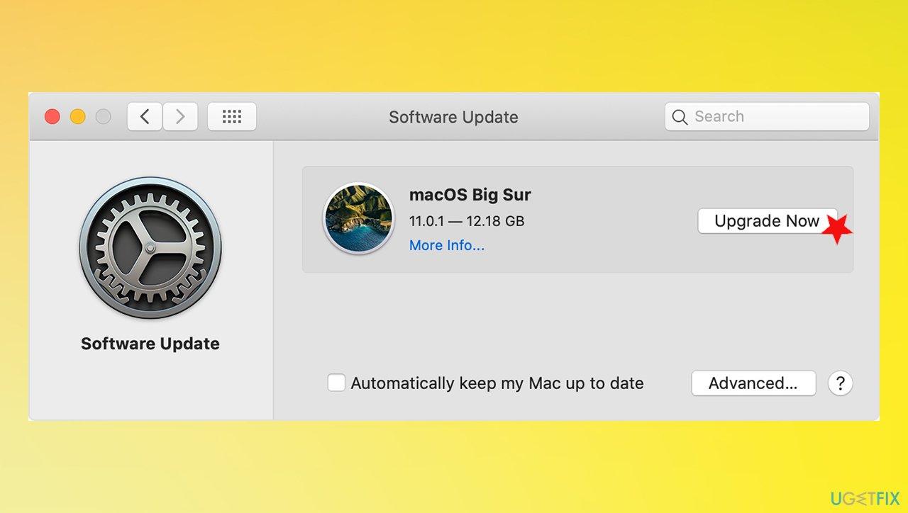 OS update