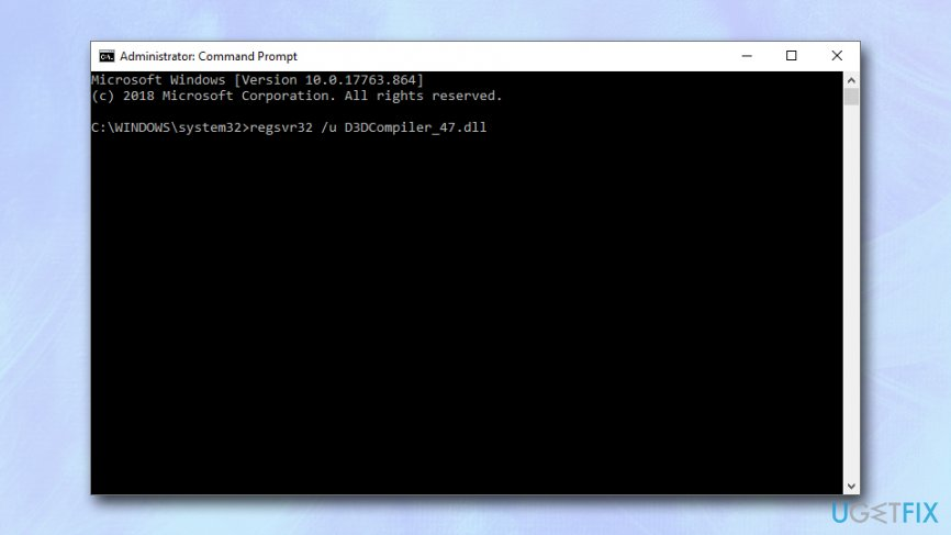 Re-register the .dll file