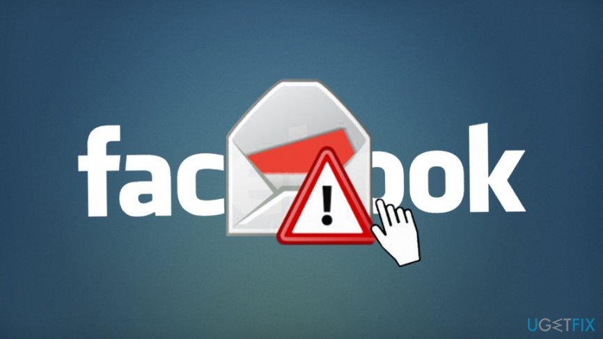 Fix Facebook sending malicious links