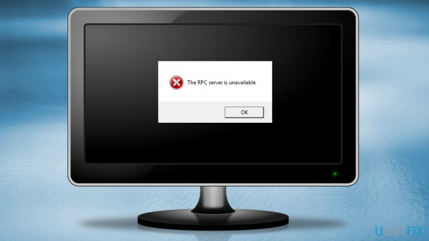 "Fix ""RPC server is unavailable"" error on Windows"