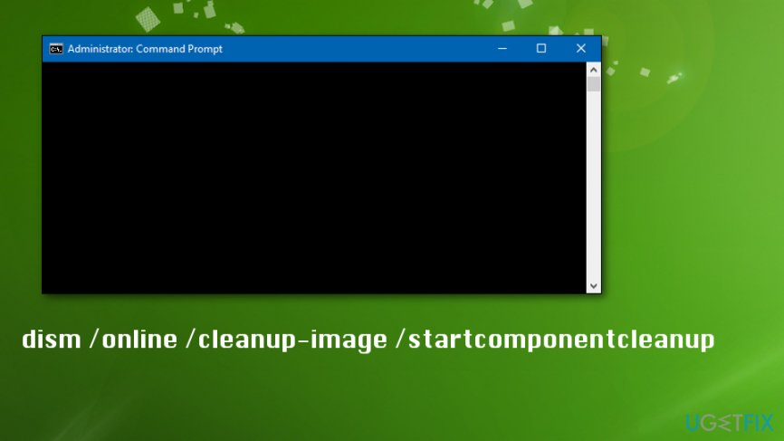 Go to admin command prompt