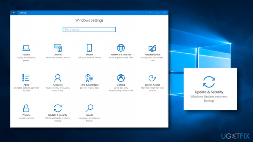 Uninstall updates to fix Unable to Create a New Folder on Windows 10 Desktop Issue