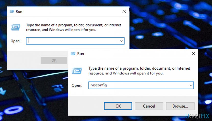 """""""Windows resource protection cannot perform the requested operation"""" error message fix"""
