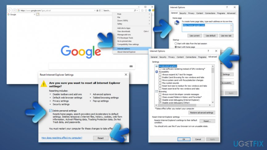 Eliminate Driver Update from your Internet Explorer web browser